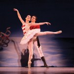 Allyssa Bross & Christopher Revels as Marie & her Prince from Los Angeles Ballet's The Nutcracker; Photo: Reed Hutchinson