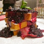 Huckleberry French Toast at Masselow's