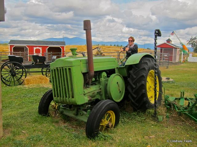 Tractor fun at Knapps