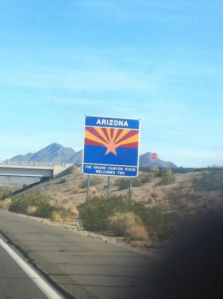 Arizona State Border