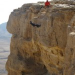 Rappelling Makhtesh Ramon