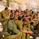 Israeli military on a break