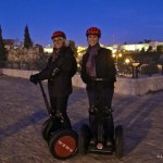 Segways in the New City, Jerusalem