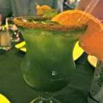 Drink Green. The Maya Margarita at Yaxche, Playa del Carmen, Mexico