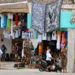 Vendors at Coba