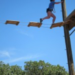 Ropes course at Travaasa Austin