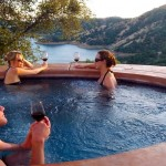 Hot Tub at Villa Vallecito