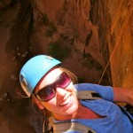 Rappeling Morning Glory Arch