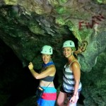 Cave exploring at Campo Rico